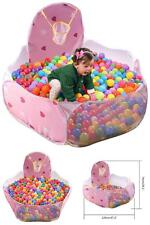 Toddler Toy Baby Ball Tent Ball Pit Stages Kids Girls Basket Ball Hoop And Bag