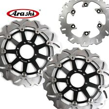Arashi Front Rear Brake Disc Rotor For Yamaha TDM850 1991-2001 TRX 850 1995-2000