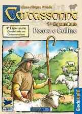 Carcassonne: Pecore e Colline, Espansione 9 - Nuovo, Italiano