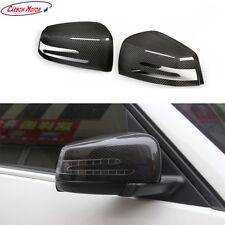 Carbon Fiber Mirror Cover for Benz A CLA 45 C S63 AMG W204 W221 W212 W117 X204