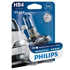 Philips White Vision WhiteVision HB4 Car Headlight Bulb (Single) 9006WHVB1