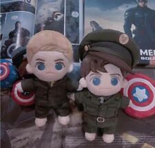 Marvel Winter Soldier Bucky Barnes Captain Plush Doll Stuffed Gift Limit 3PCS