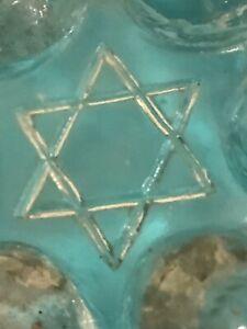 Antique-Victorian 'STAR OF DAVID' JELLY MOULDS-Set Of Three-Big, Medium & Small.
