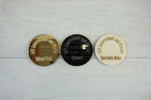 Zusätzliche Produkt zum Cake Topper Acrylglas ASO Laserschnitt und Gravur