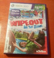 Wipeout In The Zone Microsoft Xbox 360 Activision Kinect  endemol  abc  4 Player