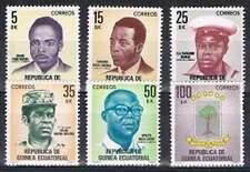 Guine-Ecuatorial postfris 1980 MNH - Nationale Helden (p224)