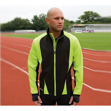 Spiro Mens Freedom Soft Shell Jacket Sports Fashion Wear Polyester Fleece Coats