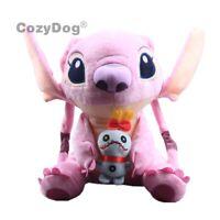 New Lilo & Stitch Angel Plush Toy Scrump Stuffed Animal Doll 10'' Teddy Limited
