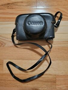 Vintage Canon Canonet Camera with Case