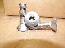 M10-1.5 x 35mm - Qty 200 - DIN 7991 Stainless Steel FLAT HEAD Socket Cap Screws