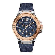 Guess Analog Blue Dial Men's Watch W0040G6