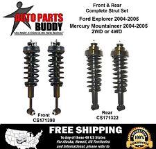Full Set Explorer/Mountaineer 2 Front + 2 Rear Complete Struts Lifetime Warranty
