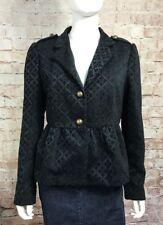 Tulle Jacket Large Black Classy
