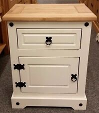 Mercers Furniture Corona Painted Pot Cupboard/Bedside (Ex Display)