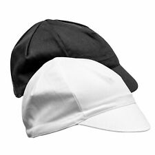 Plain Cycling Cap – Traditional Blank Bike Cotton Hat with Peak Retro