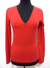 HUGO BOSS Maglia Donna Cotone Cotton Woman Sweater T-Shirt Sz.XS - 38