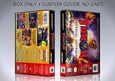TUROK RAGE WARS. NTSC ENGLISH. Box/Case. Nintendo 64. BOX + COVER. (NO GAME).