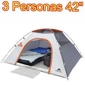 Tienda De Campaña Carpa Domo Casa Acampar 3 Personas Espaciosa Calidad Superior