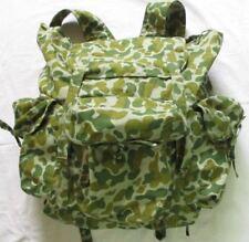 Vietnam War _  Viet Cong NLF Combat Rucksack( Backpack )_  3 stick,