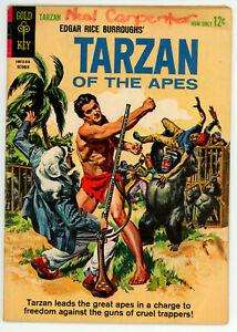 JERRY WEIST ESTATE: TARZAN OF THE APES #138 & 145 (Gold Key 1963-64) VG! NR!