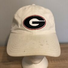 University of Georgia Bulldogs Hat Fitted Cap White NCAA College