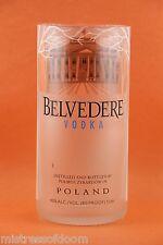 BELVEDERE VODKA  GLASS MADE FROM ORIGINAL 1L BOTTLE