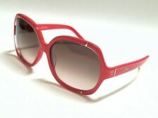 New Authentic Chloe CE619S 626 Coral/Light Brown Gradient 58mm Sunglasses