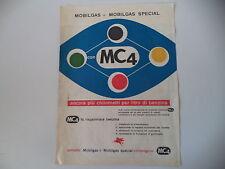 advertising Pubblicità 1956 MOBILGAS MOBIL GAS