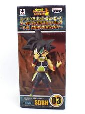 Figurine Dragon ball Z WCF DB HEROES BARDOCK TIME BREAKER 03 BANPRESTO officiel