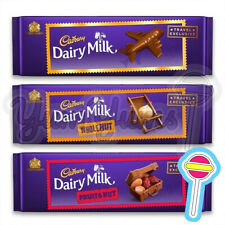3 x 300g Cadbury Dairy Milk Bundle | Milk Chocolate, Wholenut & Fruit & Nut