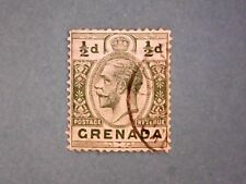 Grenada. KGV 1913 ½d Green. SG90. Wmk Mult Crown CA. P14. Used.