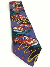 The Beatles Drive My Car Silk Neck Tie Vintage Manhattan Menswear