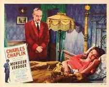Monsieur Verdoux 08 comprimidos A3 cartel impresión