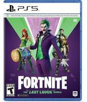 Fortnite -- The Last Laugh Bundle (Sony PlayStation 5, 2020) (NO DISK VERSION)