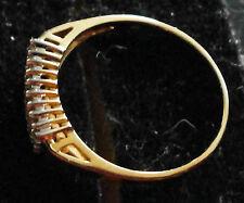 Runde Unisex Ringe mit Edelsteinen aus Gelbgold