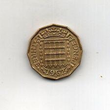 Gran Bretaña 3 peniques 1962