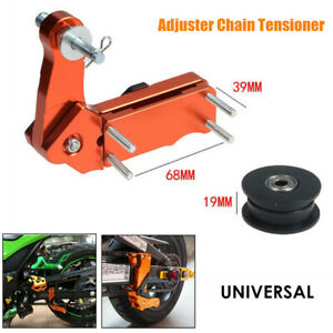 1×Motorcycle Adjuster Chain Tensioner Chain Antiskid Device Automatic Regulator