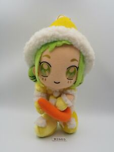 "Ojamajo Doremi B2603 Momoka Asuka Christmas Banpresto 2001 Plush 8"" Doll Japan"