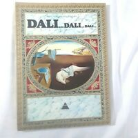 Salvador Dali Max Gerard Harry Abrams Vintage Art Book Abridged