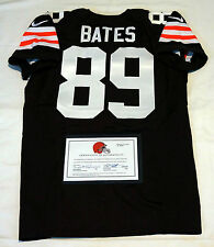 #89 Phil Bates Cleveland Browns Event-Worn Nike Jersey from 2014