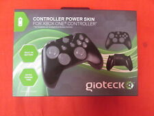 Gioteck Black Controller Power Skin Built-In Battery Xbox One By Gioteck 8473