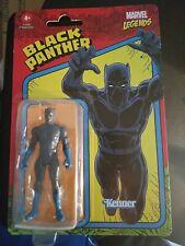 "BLACK PANTHER 2021 Marvel Legends 3.75"" Action Figure Kenner Hasbro Series Retro"