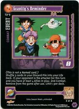 Gravity's Reminder L3-5 Dragonball Gt Dbz Non-Foil Promo Card