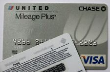 Expired 05/2009 Chase Bank United Airlines Visa Credit Card