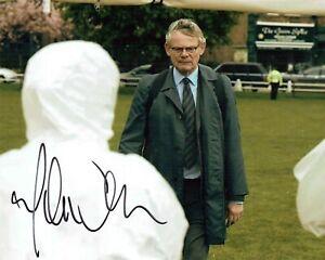 Martin CLUNES SIGNED Autograph 10x8 Photo A AFTAL COA Doc Martin MANHUNT Actor