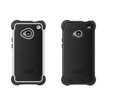 HTC One M7 Ballistic Rugged Tough Jacket Protective Case Cover Skin in 2 Colors