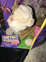 Hasbro FurReal Friends Newborn Patchwork Puppy Interactive Plush In Retail Box