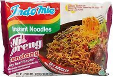Indo Mie Mi Goreng Instant Noodle, Spicy Beef Flavor Rendang,  (Pack30)