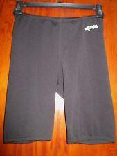 Dolphin Sz 28 Black Swim Racer Pants Shorts Suit Jammer Retail $34