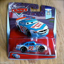 Disney PIXAR Cars PONCHY WIPEOUT BUMPER SAVE No. 90 diecast PISTON CUP 3/18 2015